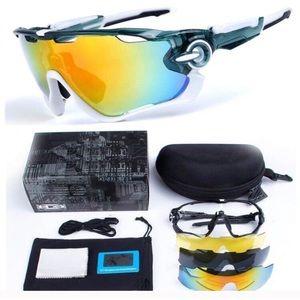 Other - NRFB Polarized Unisex Sunglasses 5 changeable lens
